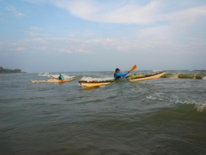 learn how to kayak the Great lakes