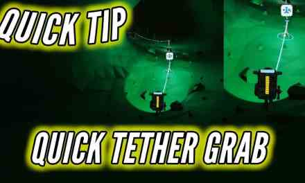 Quickly Grab Tethers While Running Astroneer Quick Tip