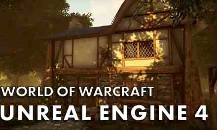 World Of Warcraft In Unreal Engine 4 Looks Amazing