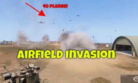 Airfield Invasion – Arma 3 Funny Moments