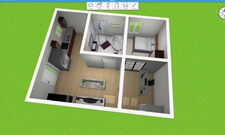 The Perfect Single Person 500 ft² Home – Home Design 3D
