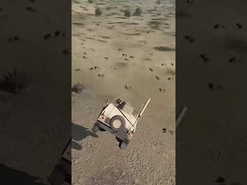 #Shorts Humvee Vs Cliff – Arma 3 Funny Moment