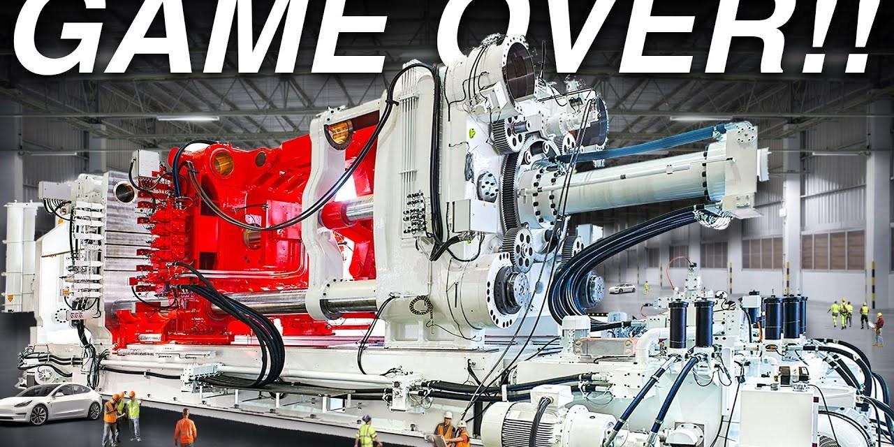 GAME OVER! Tesla's SECRET WEAPON The Gigapress