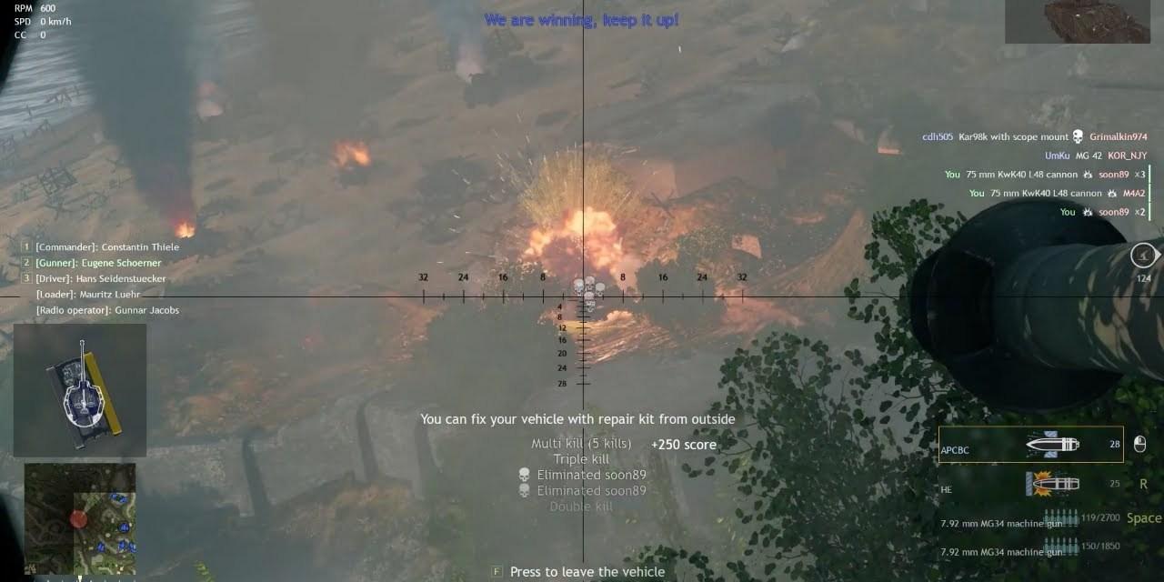 God Tier German Tank Position – Enlisted