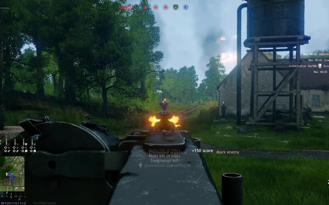 Engineer MG42 Emplacement Is Awesome – Enlisted