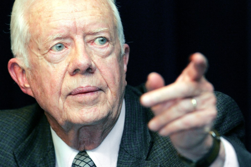 Jimmy Carter Exposes 1 of 2 Non-Secrets of World's Most Powerful People