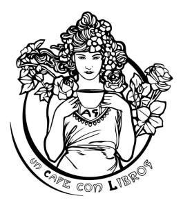 Un Cafe con libros logo