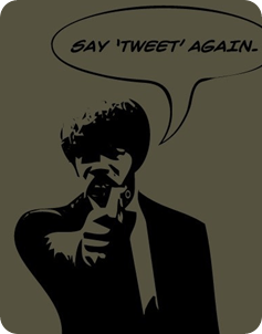 Samuel L Jackson wants you to say Tweet on more time