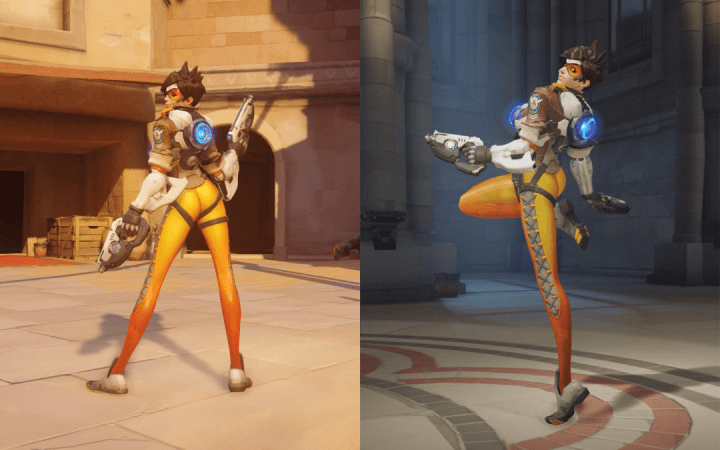 Blizzard replaces Tracer's butt pose in Overwatch with a better butt pose