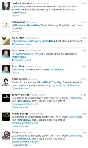 Tweets about Tweeting for GrowNOLA
