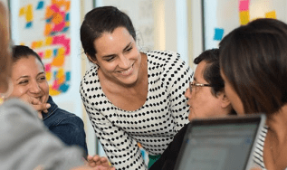 TrueSchool Studio founder Amy Vreeland engages frontline education through  programs.