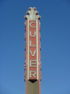 culver theater ditch