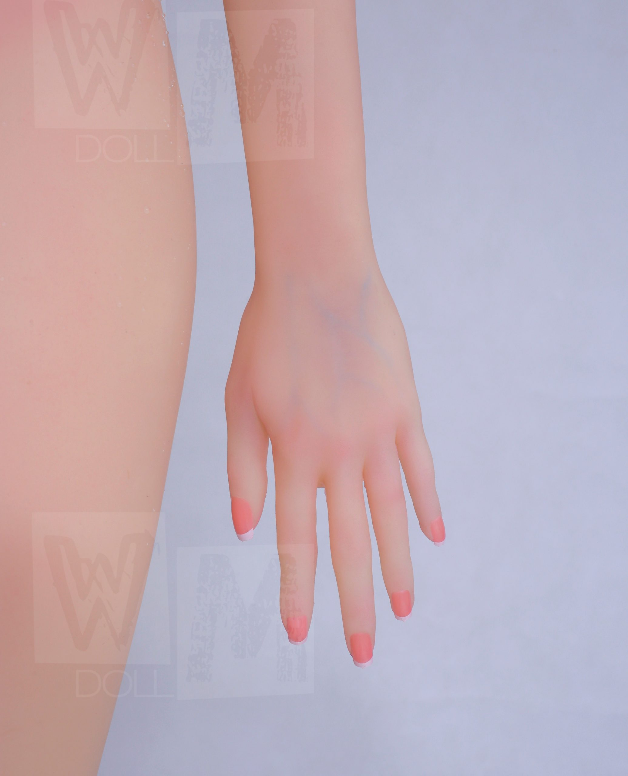 natural realistic skin colour