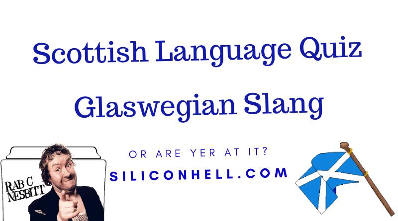 Glaswegian language quiz