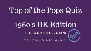 FP Quiz 1960s top of the Pops