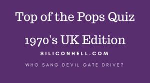FP quiz top of the Pops 1970s