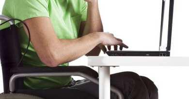 FP wheelchair laptop