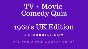 Siliconhell 1960s comedy quiz
