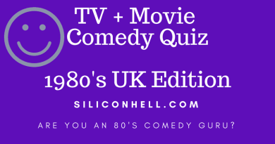 Siliconhell 1980s comedy quiz