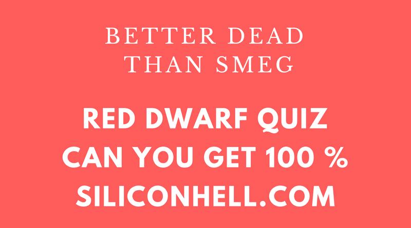 Siliconhell Red Dwarf Quiz v2