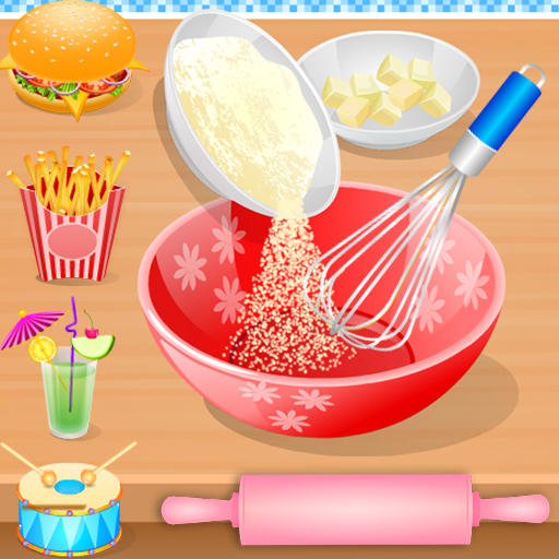 Cooking in the Kitchen – Baking games for girls