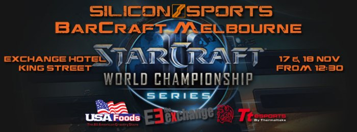 WCS Finals BarCraft Next Week