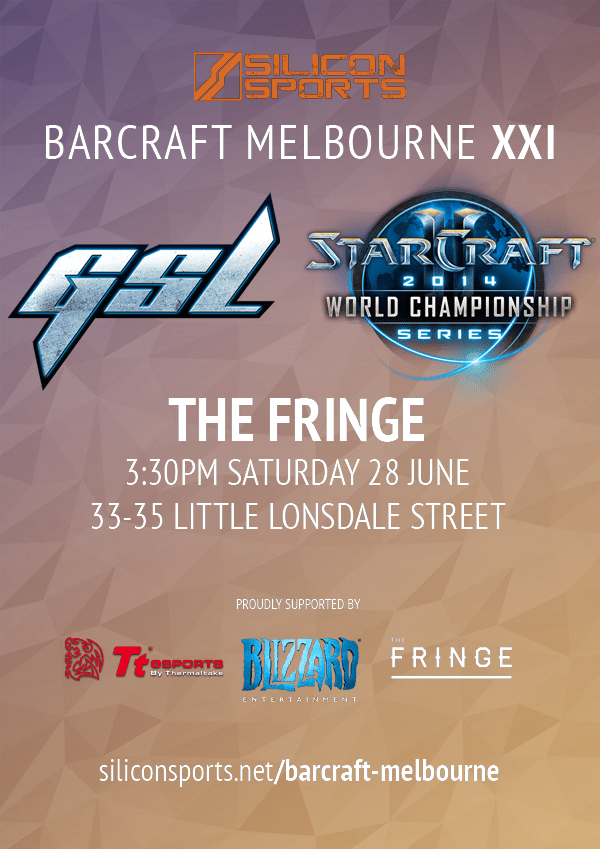 BarCraft Melbourne XXI Flyer