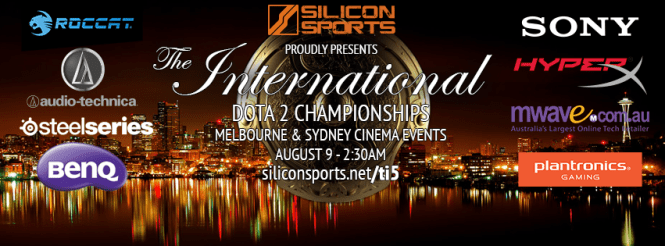 Silicon Sports TI5 Dota 2 Cinema Events