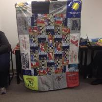 Michelle-Nichole gives us an inside look at the quilt her 9yo son began and she helped him finish. Very cool!