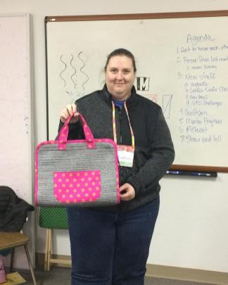 Tricialyn and her Maker's Tote