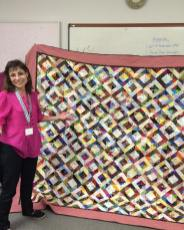 Jan shows us the kind of magic she can work with her friend's scraps. Lovely work Jan!
