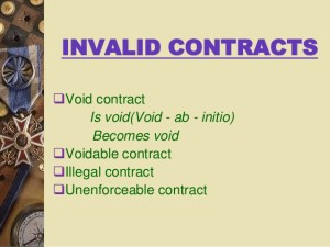 AA Illegal Contract