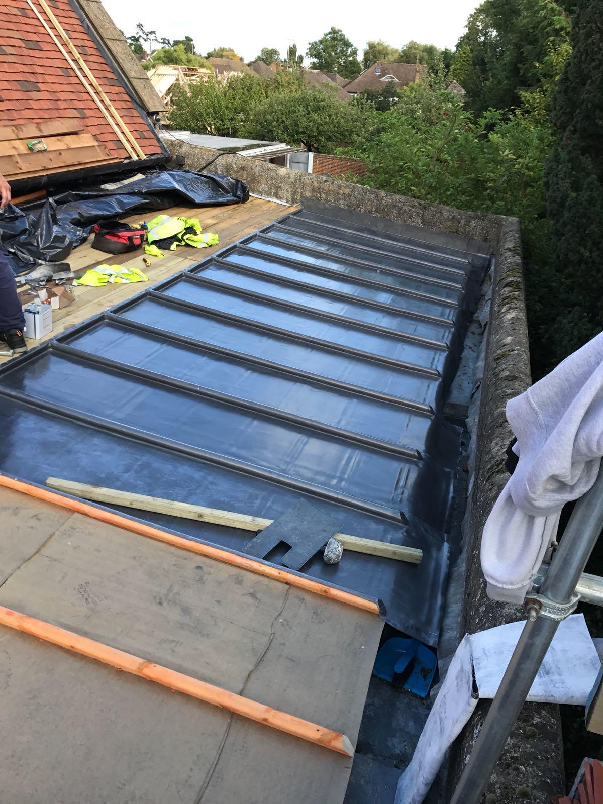 Our Work Lead Roofing Slik Leadwork