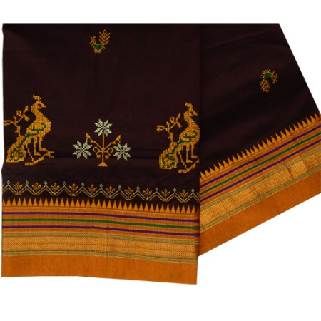 ilkal kasuti work saree