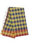 Ilkal Silk by Cotton Big Checks Sarees