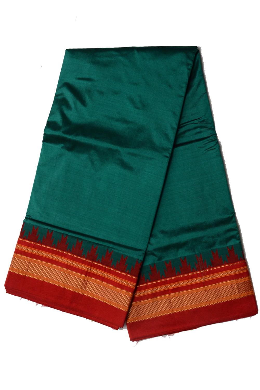 Ilkal Silk by Cotton Chukki Star Saree