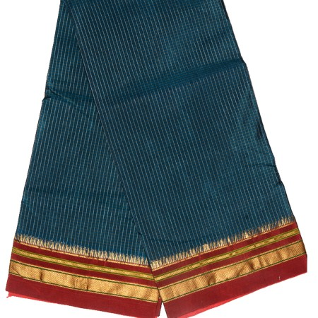 Ilkal Silk by Cotton Saree