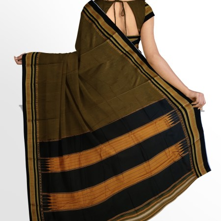 ILKAL PLAIN MASRISE COTTON SAREE