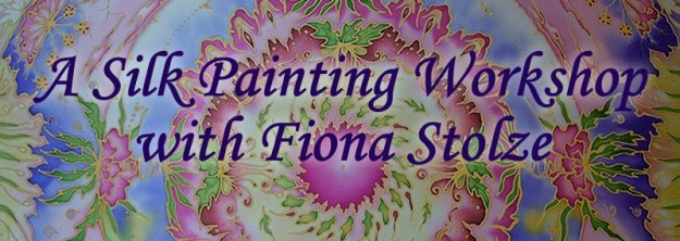 A Silk Painting Workshop with Fiona Stolze - Create your own mandala on silk