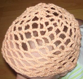Fishnet Baby Girl Hat