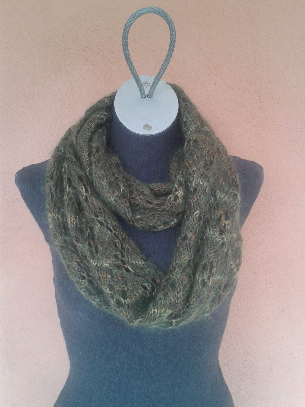 Soft Stream Lace Cowl