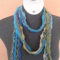 Nicois Skinny Crochet Scarf - Free Pattern