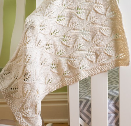 Leafy Baby Blanket