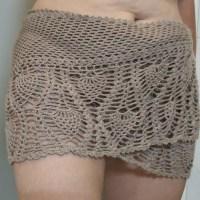 Beach Cover-Up / Shawlette: Free Crochet Pattern