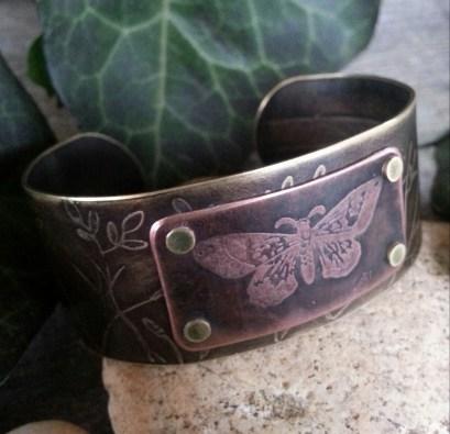 etched-brass-butterfly-cuff-bracelet
