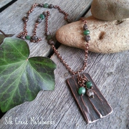 silk-creek-metalworks-gallery-copper-necklace-beaded-green-brown