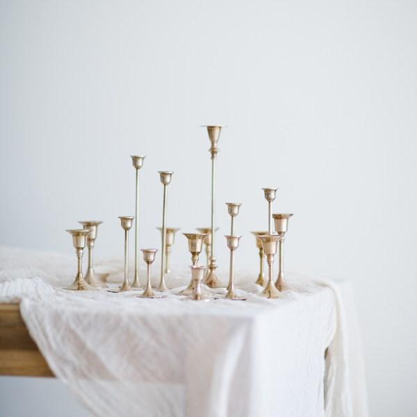 Kerzenständer zum Verleih