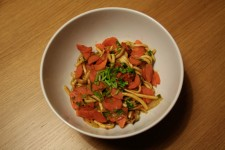Noodles with Carrots and Cilantro