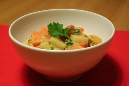 Sweet Potato and Pineapple Korma