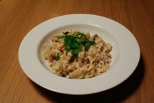 Fennel-Mushroom Risotto